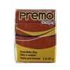 Premo Sculpey Polymer Clay - Burnt Umber 2 oz block
