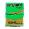 Premo Sculpey Polymer Clay - Green 2 oz block