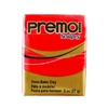 Premo Sculpey Polymer Clay - Cadmium Red 2 oz block
