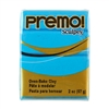 Premo Sculpey Polymer Clay - Turquoise 2 oz block