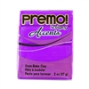 Premo Accent Sculpey Polymer Clay - Purple Pearl 2 oz block
