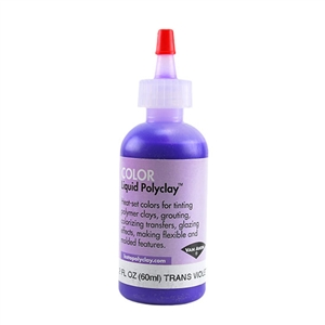 Color Liquid Polyclay - Translucent Violet 2 oz