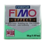 FIMO® Polymer Clay - Translucent Green #504 2 oz block