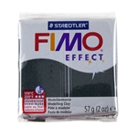 FIMO® Polymer Clay - Pearl Black #907 2 oz block