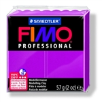 FIMO® Professional Clay - True Magenta #210 - 2 oz block