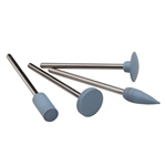 Silicone Polisher: Light Blue Flame Set
