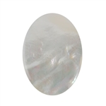 Natural Mother of Pearl - Cabochon Oval 30x40mm - Pak of 1