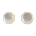 Natural Mother of Pearl - Cabochon Round 6mm