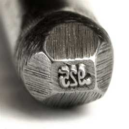 Quality Stamp - .925 - Straight 2mm