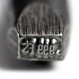 Quality Stamp - .999FS - Bent 4mm