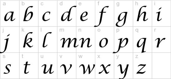 lucinda font