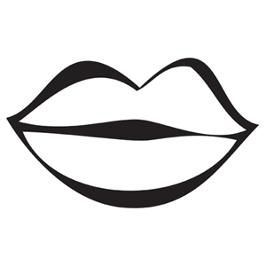 Design Stamp Jumbo - Lips 10mm