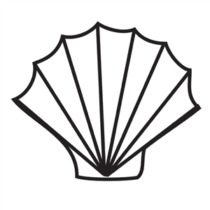 Design Stamp Jumbo - Sea Shell