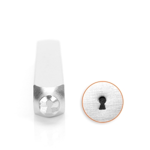Design Stamp - Key Hole 4mm