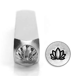 Design Stamp - Lotus 6mm