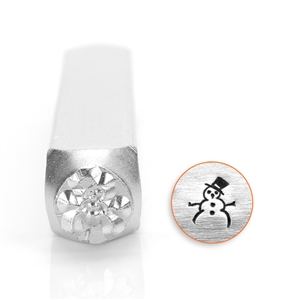 Design Stamp - Snow Man 6mm