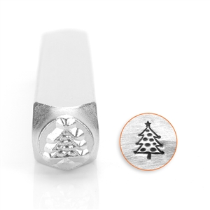 Design Stamp - Christmas Tree 6mm