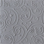 Rollable Texture Tile - Curly Vines Fineline