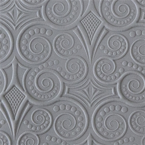 Rollable Texture Tile: Nouveau Mucha Embossed