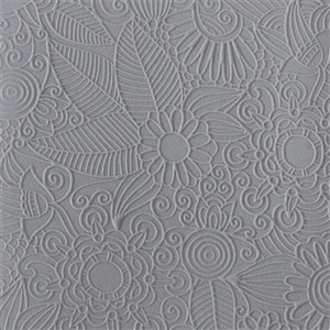 Rollable Texture Tile - Flower Party Fineline