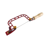 Fret Hand Saw with Cam-Lever Tension and Swivel Blade Clamps - 3""