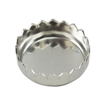 Bezel Cup Round Serrated 3.25mm