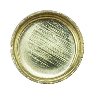 Brass Bezel Cup Round 3mm