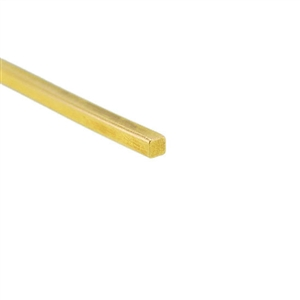 Craft Wire - Gold Plate Square 21 gauge