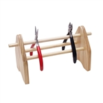 Wood Plier Rack