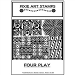 Pixie Art Texture Stamp - Four Play