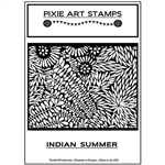 Pixie Art Texture Stamp - Indian Summer