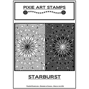 Pixie Art Texture Stamp - Starburst
