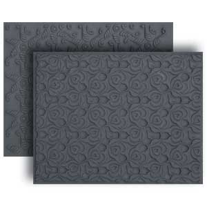 Lisa Pavelka Texture Set -  Hearts Aflame & Ribbons
