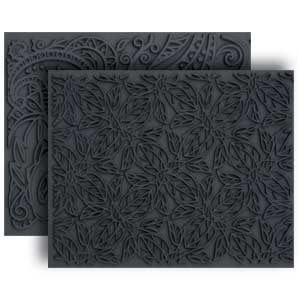 Lisa Pavelka Texture Set - Leaves & Paisley