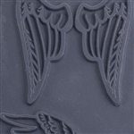 Christi Friesen Texture Stamp - Feather Wings