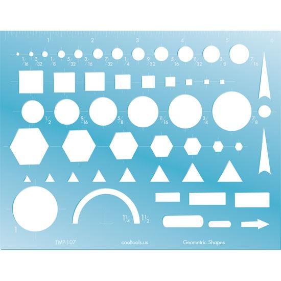 Geometric Shapes Template | Cool Tools