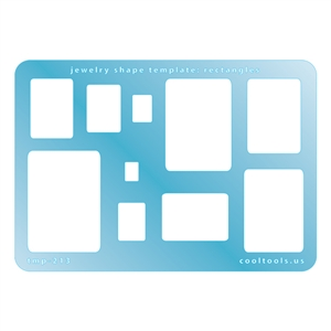 Jewelry Shape Template - Rectangles