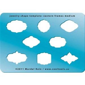 Jewelry Shape Template - Eastern Frames Medium