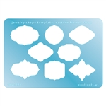 Jewelry Shape Template - Eastern Frames Large
