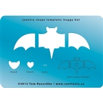 Jewelry Shape Template - Huggy Bat