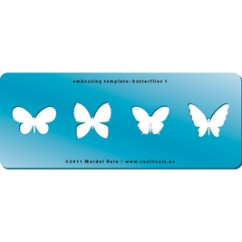 Embossing Template: Butterflies 1