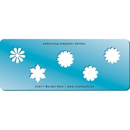 Embossing Template: Daisies