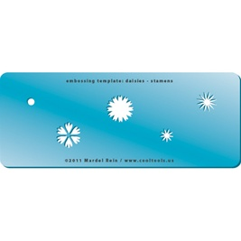 Embossing Template: Daisies - Stamens