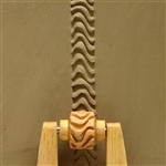 Large Wooden Mini Roller - Zebra Lines