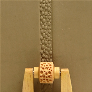 Large Wooden Mini Roller - Pebbles