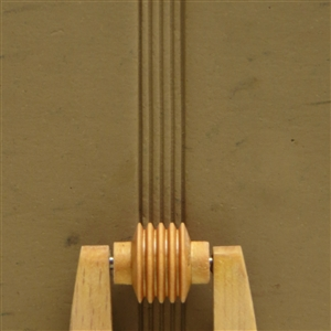 Large Wooden Mini Roller - Parallel Lines