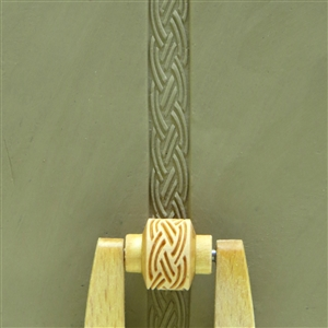 Large Wooden Mini Roller - Double Braid