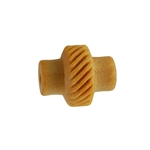 Wooden Mini Roller - Left Slanted Lines 5mm