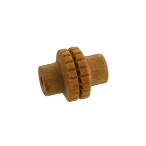 Wooden Mini Roller - Square Grid 5mm