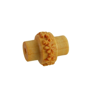 Wooden Mini Roller - Embossed Flower Pattern 5mm